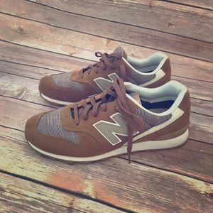 Mustard yellow/ brown new balance size 7.5